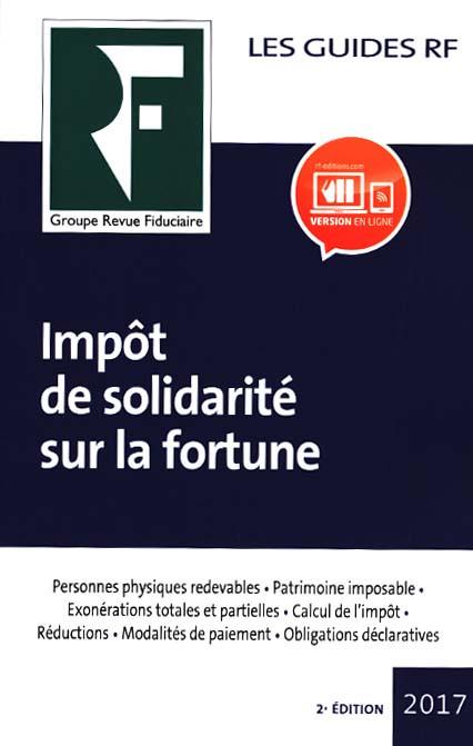 Impôt de solidarité sur la fortune 2017