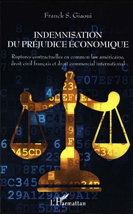 Indemnisation de préjudice économique