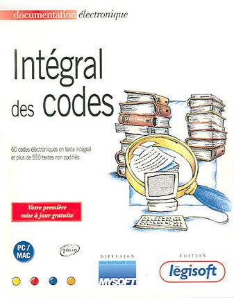 Intégral des codes (coffret 1 CD-Rom PC + 1 CD-Rom Mac)