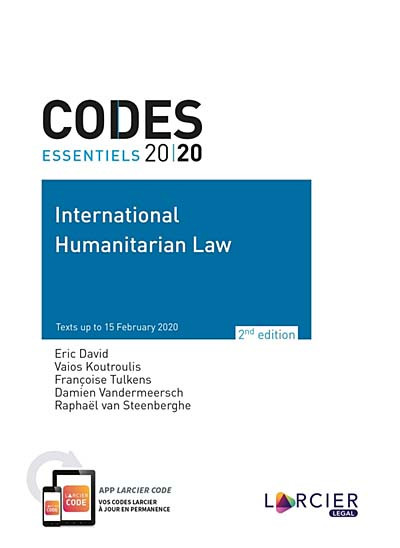 Codes essentiels 2020 - International Humanitarian Law