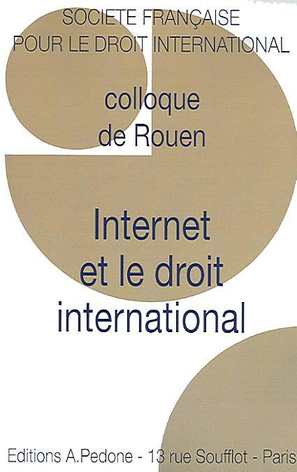 Internet et le droit international
