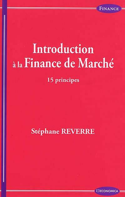 Introduction à la finance de marché