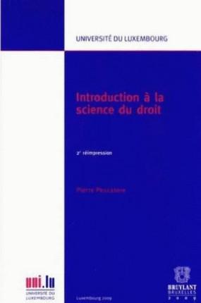 Introduction à la science du droit
