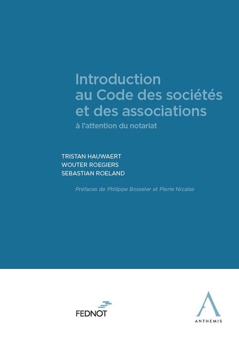 Introduction au Code des sociétés et des associations