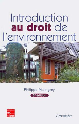Introduction au droit de l'environnement