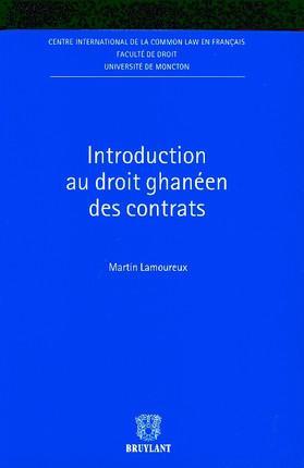 Introduction au droit ghanéen des contrats