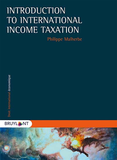 Introduction to International Income Taxation