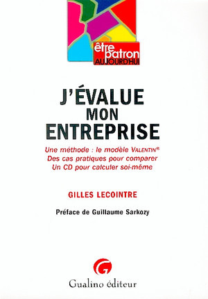 J'évalue mon entreprise (1 livre + 1 CD-Rom)