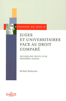 Juges et universitaires face au droit comparé