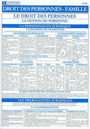 Jurifiche droit des personnes, famille, octobre 2005
