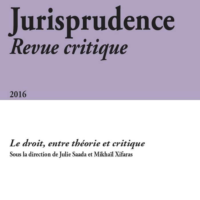 Jurisprudence - Revue critique 2016
