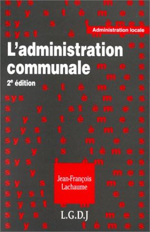 L'administration communale