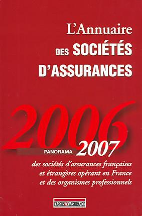 L'annuaire des sociétés d'assurance 2006-2007