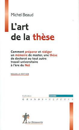 L'art de la thèse