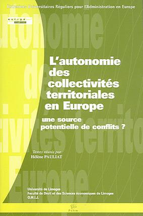 L'autonomie des collectivités territoriales en Europe