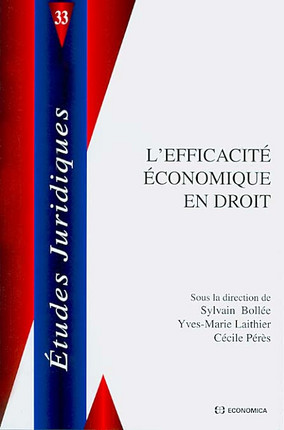 L'efficacité économique en droit