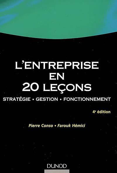 L'entreprise en 20 leçons