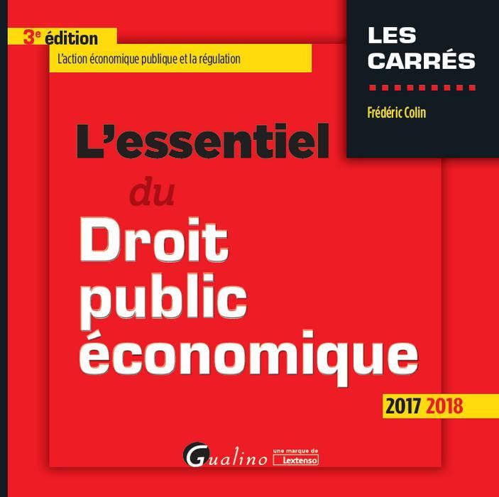 L'essentiel du droit public économique