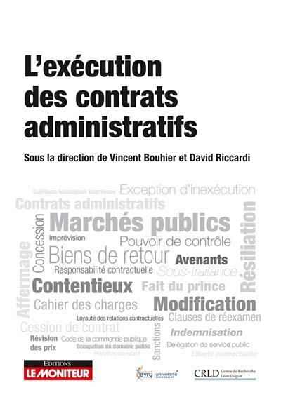 L'exécution des contrats administratifs