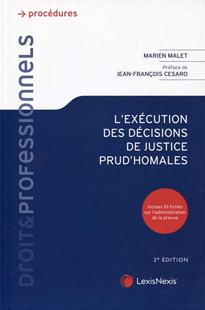L'exécution des décisions de justice prud'homales