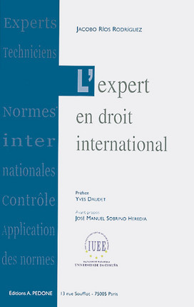 L'expert en droit international