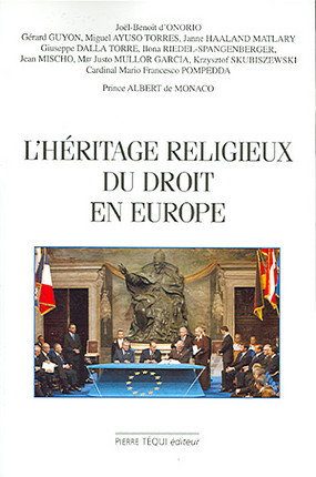 L'héritage religieux du droit en Europe