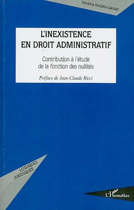 L'inexistence en droit administratif