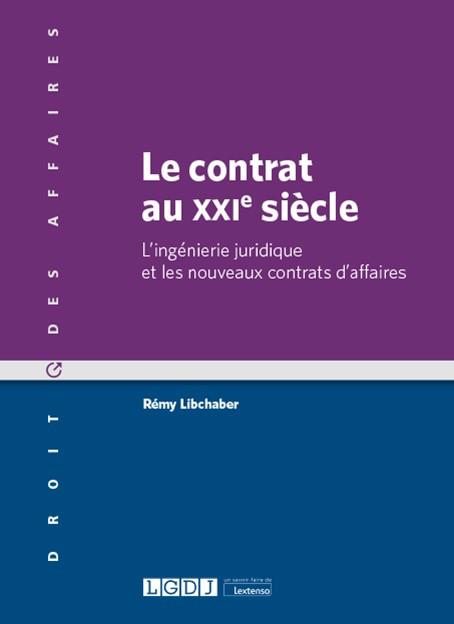 Le contrat au XXIe siècle