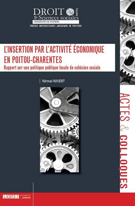 L'insertion par l'activité économique en Poitou-Charentes