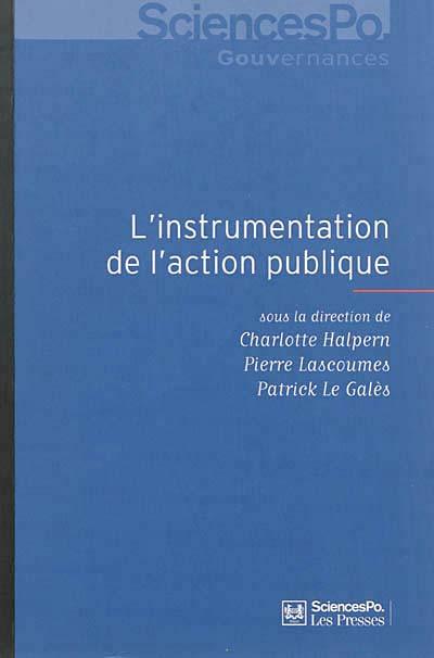 L'instrumentation de l'action publique