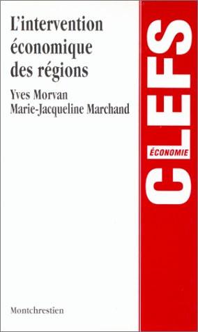 L'intervention économique des régions