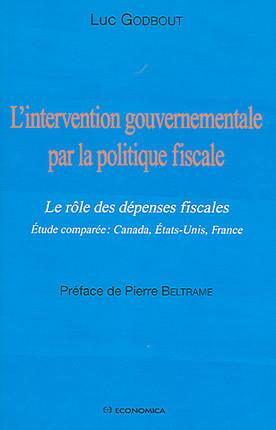 L'intervention gouvernementale par la politique fiscale