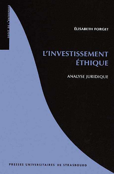L'investissement éthique