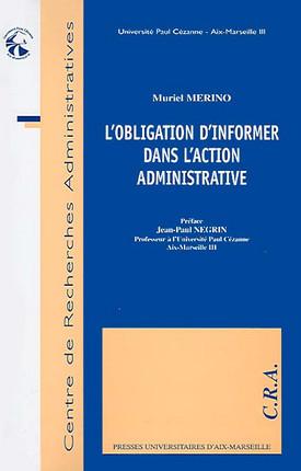 L'obligation d'informer dans l'action administrative