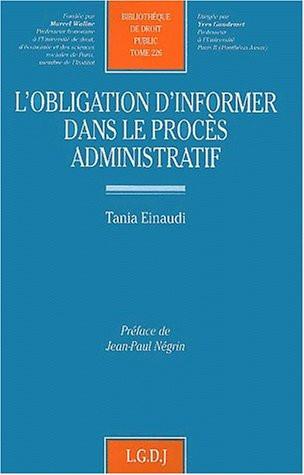 L'obligation d'informer dans le procès administratif