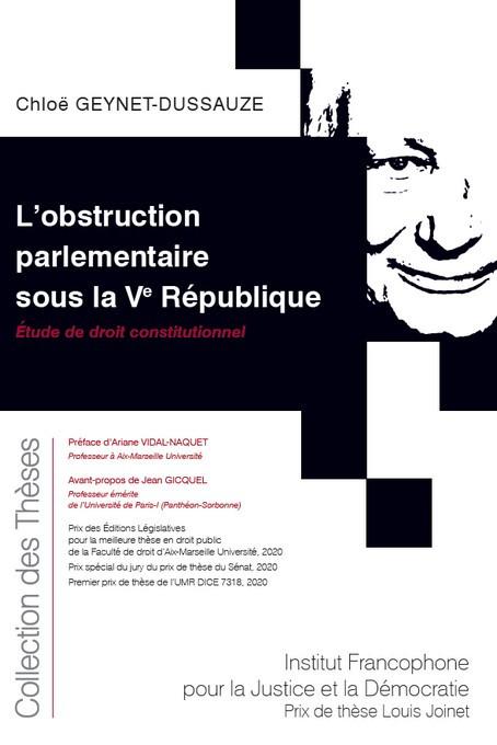 L'obstruction parlementaire sous la Ve République
