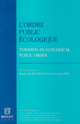 L'ordre public écologique