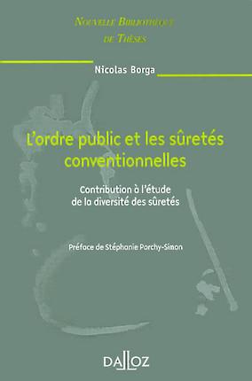 L'ordre public et les sûretés conventionnelles