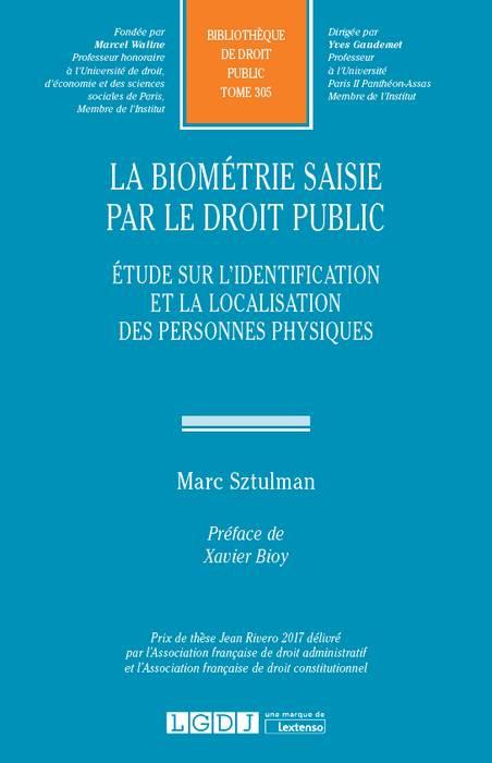 La biométrie saisie par le droit public