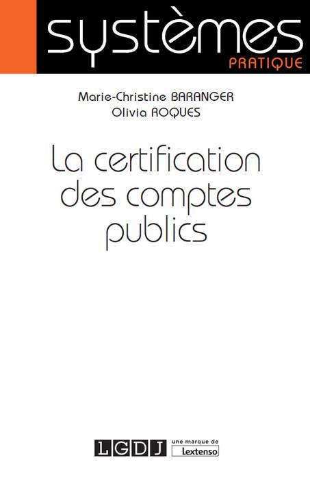 [EBOOK] La certification des comptes publics