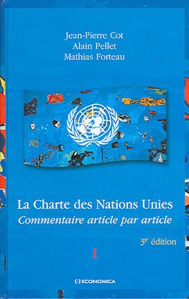 La Charte des Nations Unies, 2 volumes