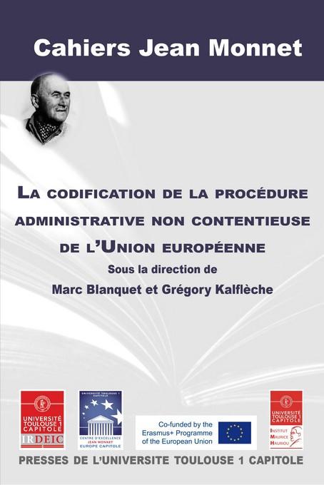 La codification de la procédure administrative non contentieuse de l'Union européenne