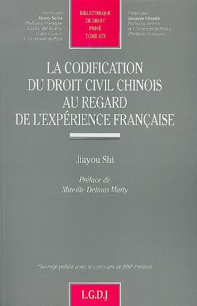 La codification du droit civil chinois au regard de l'expérience française