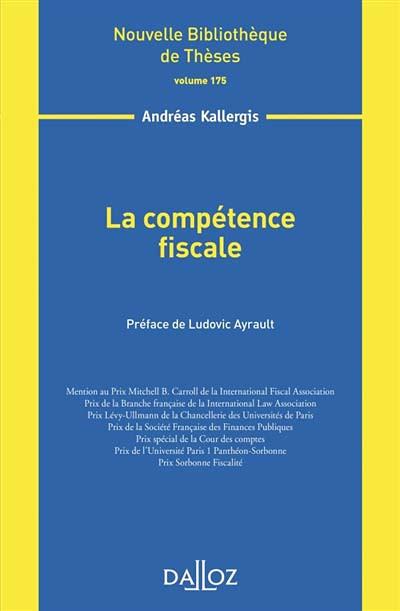 La compétence fiscale