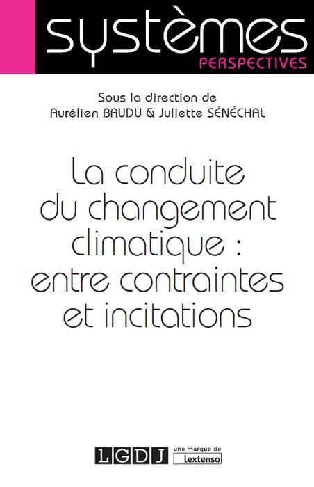 La conduite du changement climatique : entre contraintes et incitations