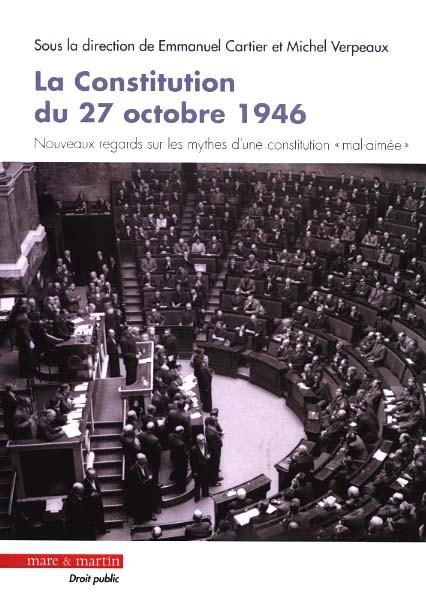 La constitution du 27 octobre 1946