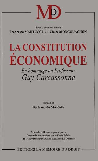 La constitution économique