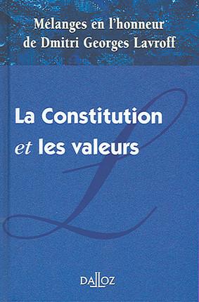 La Constitution et les valeurs