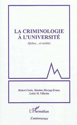La criminologie à l'université