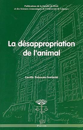 La désappropriation de l'animal